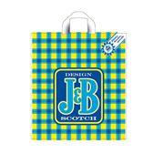 """Пакет с петлевой ручкой 40×44+6 см """"J&B"""" фото"""