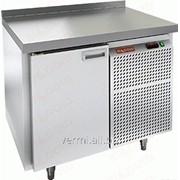 Стол морозильный с полимерным покрытием RAL 7004 Hicold GN 1/BT W фото