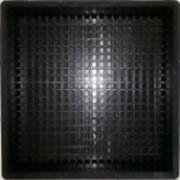 Формы для тактильной плитки Квадратные рифы 300х300х50 фото