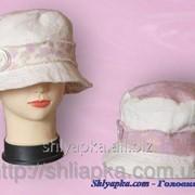 Шляпа тканевая сиреневая 26/23-1 фото