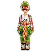Скульптура Клоун Уго 9х24,5х11см. арт.TG-4131 (Thomas Hoffman) фото