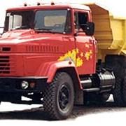 Автомобиль самосвал КРАЗ - 6510. фото