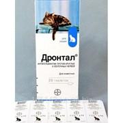 Таблетки для кошек 24 таб Drontal фото