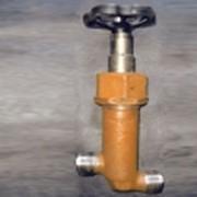 Клапан запорный приварной проходной бессальниковый с герметизацией 521-03.375-3, ИТШЛ.491144.005-02 фото