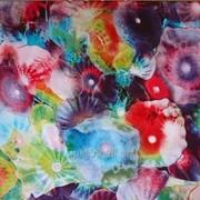 Штапель цветной - ткань 12151-1 фото