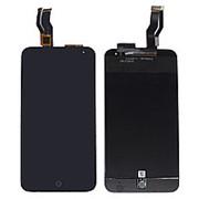 Дисплей для Meizu M1 mini Черный в сборе с тачскрином фото