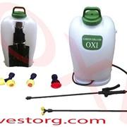 Опрыскиватель садовый аккумуляторный OXI 16л автоматический фото