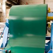 Гладкий лист из оцинкованной стали с полимерным покрытием фото