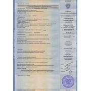 Перевод приложения к диплому с нотариальным заверением фото