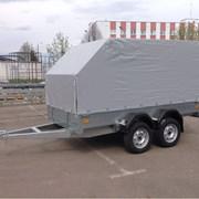 Прицеп бортовой легковой двухосный ССТ-7132-11 фото