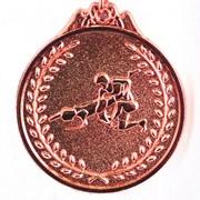 Медаль Борьба бронза фото