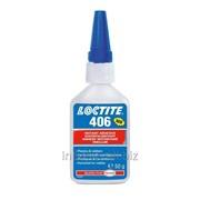 Быстрый клей для пластмасс и резины, Loctite 406 (500 gr) фото