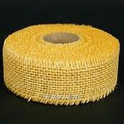 Лента джутовая кремовая R020-08 фото