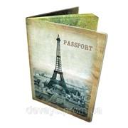 Обложка оригинальная для паспорта Ах Париж! фото