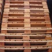 Древесностружечный грузовой поддон фото