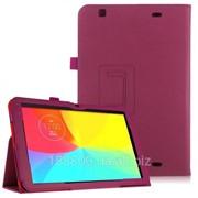 Чехол-книжка Кожаный TTX для LG G Pad 10.1 (V700) малиновый с функцией подставки фото
