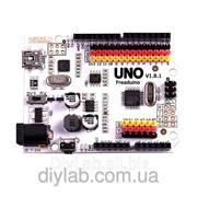 Freaduino UNO (аналог Arduino UNO з додатковими можливостями) фото