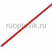2. 5 / 1. 25 мм 1м термоусадка красная REXANT фото