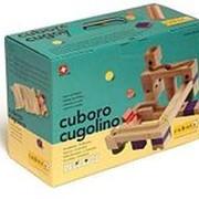Cuboro Деревянный конструктор Куборо Куголино Базовый (cuboro cugolino basic) арт. Cub20311 фото