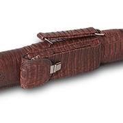 Тубус QK-S Tomahawk 1x1 коричневый аллигатор фото