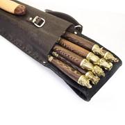 Шашлычный набор «Охота № 2» на 8 шампуров К608 фото