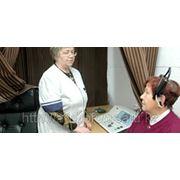 Аудиограмма и консультация сурдолога для пенсионеров фото