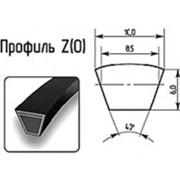 Ремни клиновые профиль Z(O) 10x6мм фото