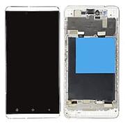 Дисплей для Highscreen Bay белый в сборе с тачскрином на рамке (уценка) фото