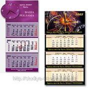Календари квартальные, настенные и настольные фото