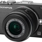 Фотоаппарат Olympus E-PL3 Double Zoom Kit black фото