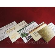 Односторонние визитки. фото