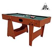 """Игровой стол DFC KICK """"2 в 1"""" бильярд/аэрохоккей фото"""