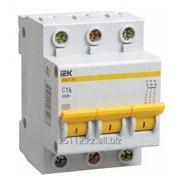 Выключатель автоматический ВА47-29М 3P 10A 4,5кА х-ка C ИЭК фото