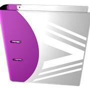 Деловая папка фиолетового цвета фото