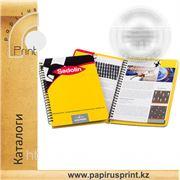 Печать каталогов в Алматы, изготовление каталогов фото