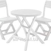 Комплект стол складной со складными стульями S3 BISTRO DUO фото