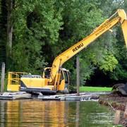 Расчистка, углубление прудов и строительство новых фото