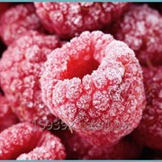 Малина замороженная, ягоды малины замороженные фото