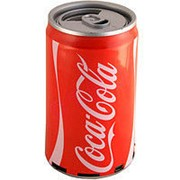 Портативные mp3 колонки с ФМ Coca Cola фото