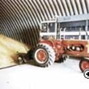 Ангары быстровозводимые зернохранилища, Ангары из легких металлоконструкций фото