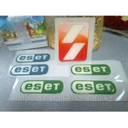 Стикеры с полимерной заливкой фото