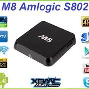 ТВ-приставка M8 Amlogic S802 Android 4.4 Smart TV Box IPTV Торрент ТВ фото