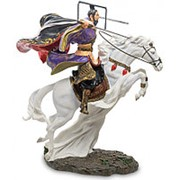 Скульптура Китайский воин на коне 27х31,5х19,5см. арт.WS-759 Veronese фото