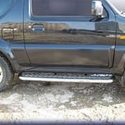 Пороги Suzuki Jimny 1998-наст.время (с листом 57 мм) фото