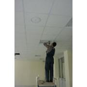 Монтаж подвесных потолков фото
