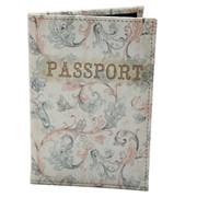 Обложка для паспорта из кожзама Элегант фото