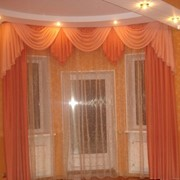 Дизайн штор, подбор текстиля, пошив. фото