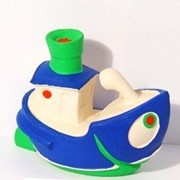 Игрушка латексная Кораблик арт 1319 фото
