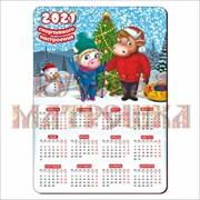 Календарь деревянный. Символ года 2021, нг21-к2-008 фото