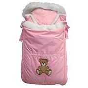 Конверт-одеяло Лапушки розовый фото